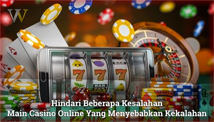 Casino Online Yang Menyebabkan Kekalahan - WomenVote